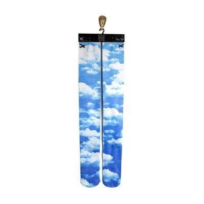 Высокие спортивные гольфы ODD SOX Sky