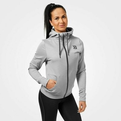 Толстовка Better Bodies Performance Hoodie, Greymelange