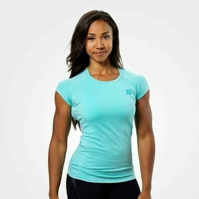 Футболка Better Bodies Performance Cut Tee, Light Aqua