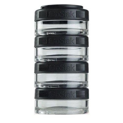 Контейнеры BlenderBottle® GoStak 4*40 мл, Black