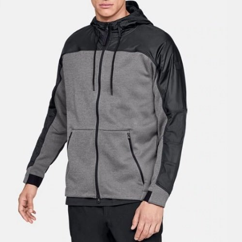 Худи Under Armour ColdGear® Swacket Charcoal