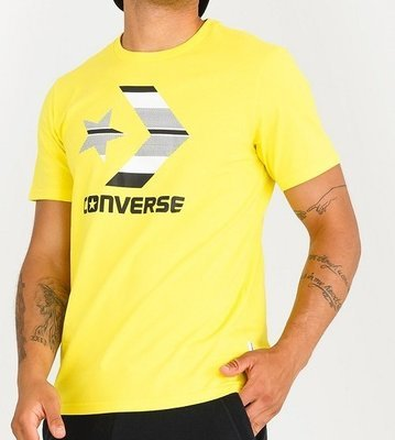 Футболка CONVERSE Chevron Logo, Yellow