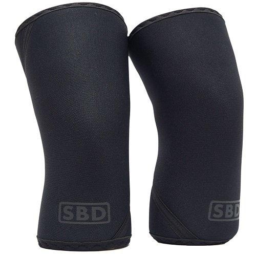 SBD наколенники для пауэрлифтинга 7 мм