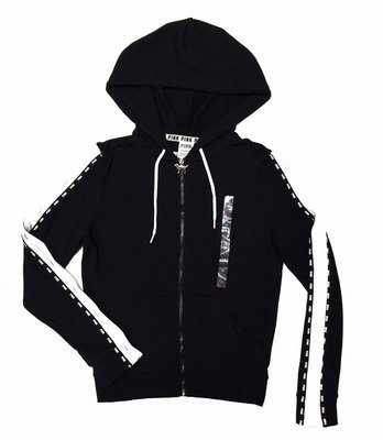 Толстовка Victoria`s Secret Zip Hoodie Black