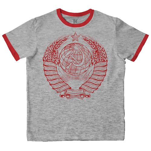 Футболка мужская Max Extreme герб СССР
