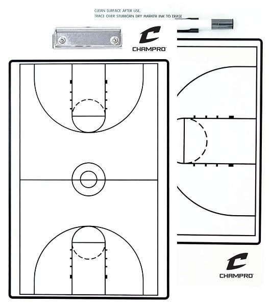 Доска тренерская баскетбольная CHAMPRO SPORTS