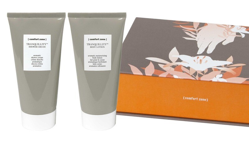 TRANQUILLITY cadeau pakket: Douchegel en Bodycrème