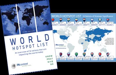 World Hotspot List Combo (Book + Map)
