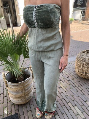 Tom Tom Ibiza Jumpsuit   Green (outlet)