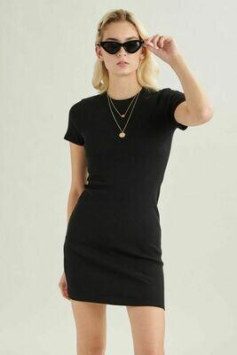 24 Colours T-Shirt Dress Bianca