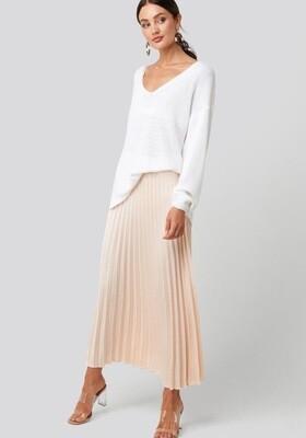 Rut & Circle Bianca Skirt | Licht Beige