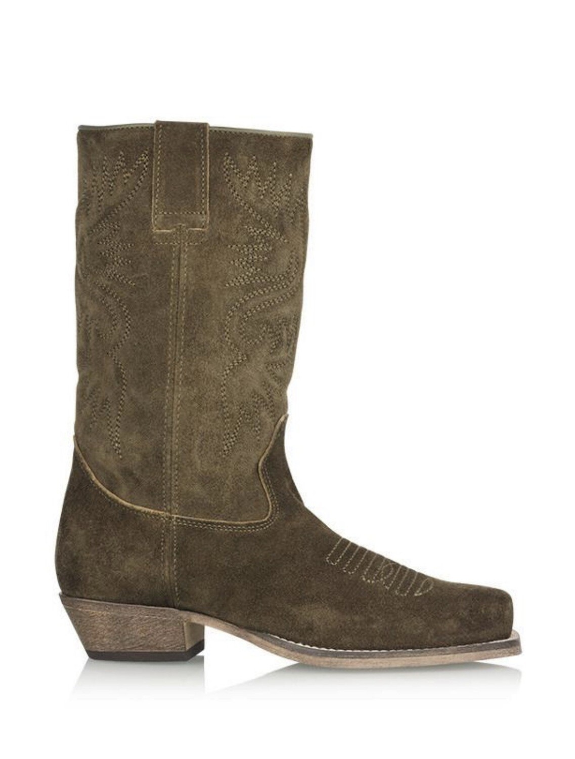 Dwrs Dallas Westernboots | Suede Army