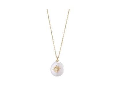 Margot Bardot Necklace | Star Freshwater Pearl