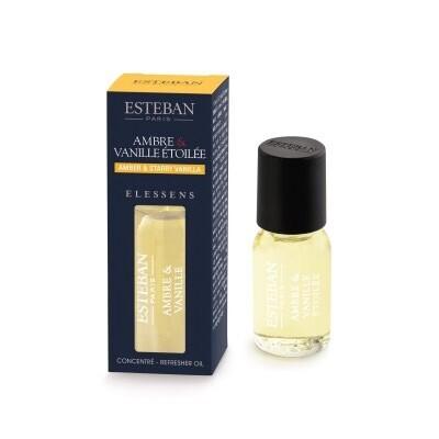 Esteban Elessens Amber & Starry Vanilla Essentiele Geurolie - 15 ml