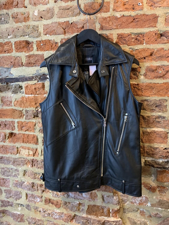 Ibana Gilet Billie | Leather Black