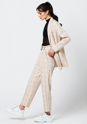 Rut & Circle Maja Check Blazer