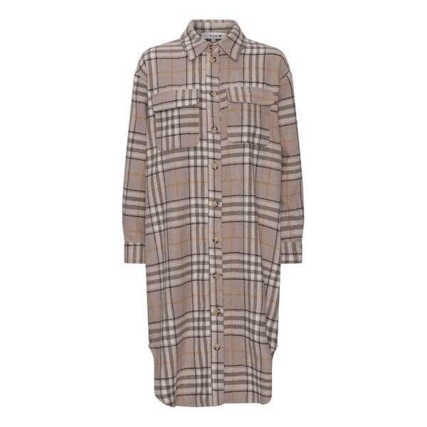 A-View Shirt/Blouse Stine Long | Beige