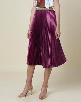Silvian Heach Skirt Bordmer | Raspberry