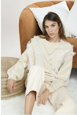 Molly Bracken Sweater Perfect | Off White