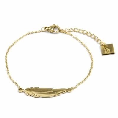 ZAG Armband Veer | Goud