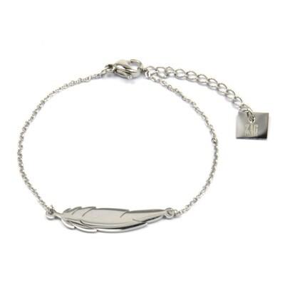 ZAG Armband Veer | Zilver