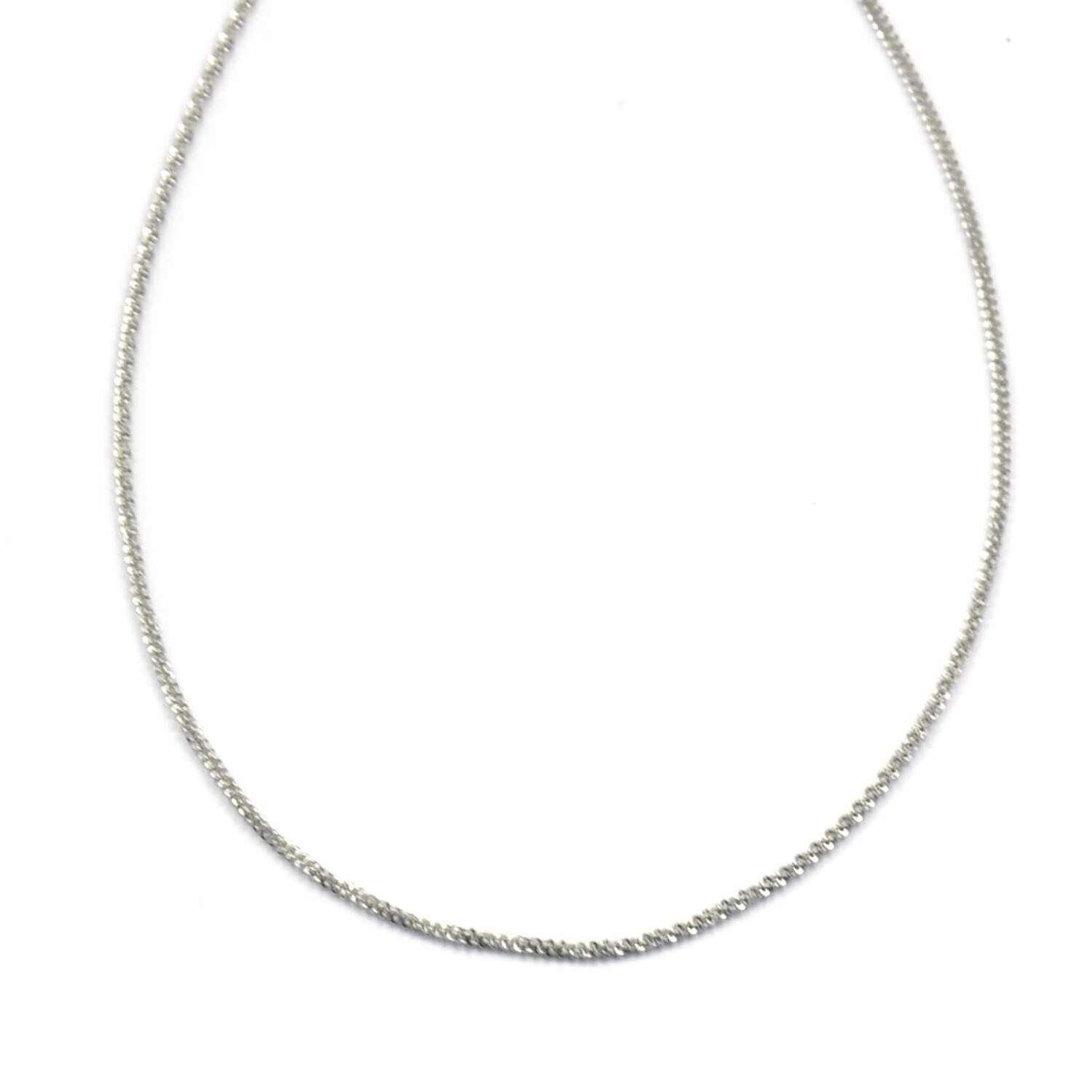 ZAG Ketting Sparkling Chain   Zilver
