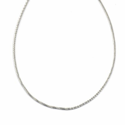ZAG Ketting Sparkling Chain | Zilver