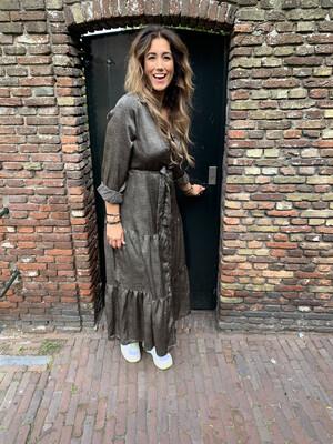 Molly Bracken Spots Dress | Black