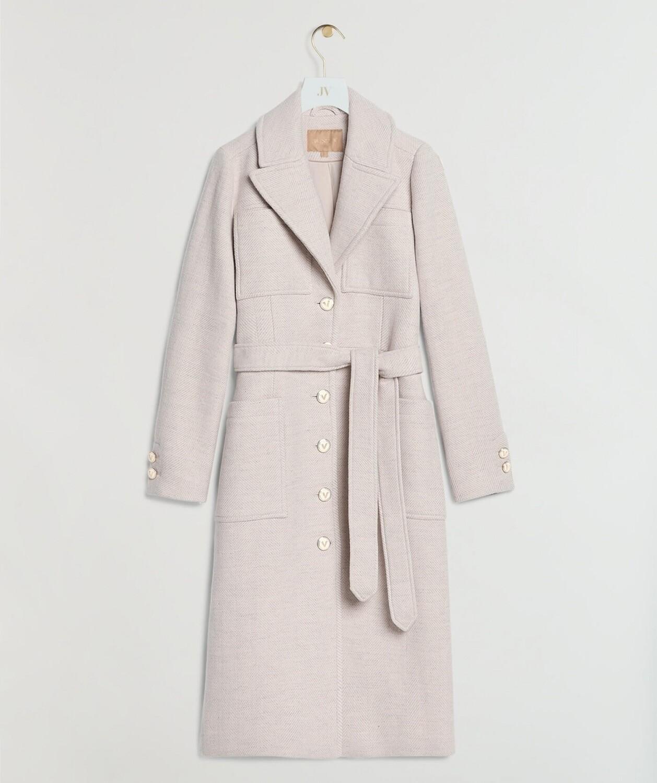 Josh V Coat Manou | Pink Melange