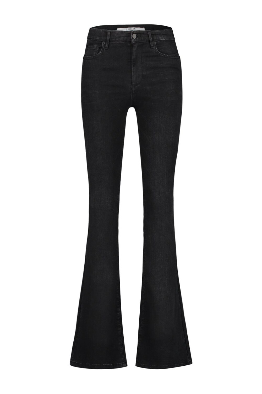 Homage Flared Jeans | Black Used