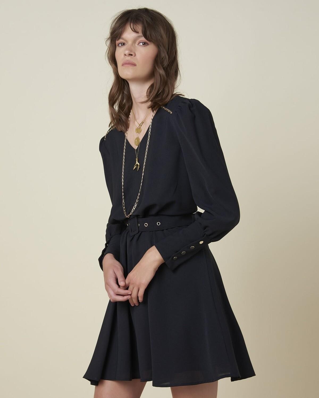 Silvian Heach Dress Changhen | Black