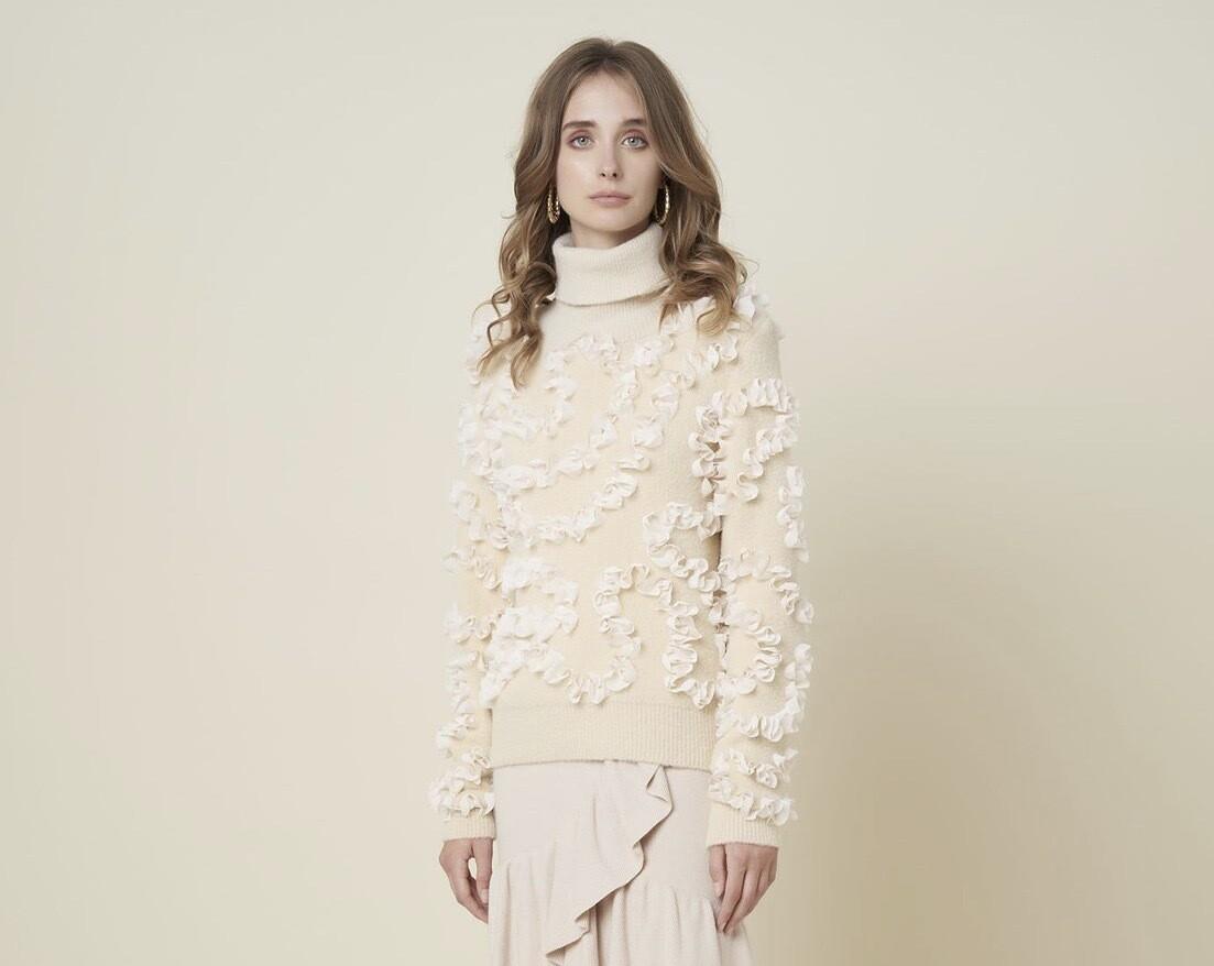 Silvian Heach Sweater Affliction | Sand