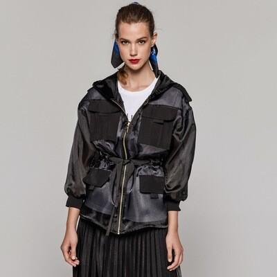 Access By Eight Jacket Lola | Black