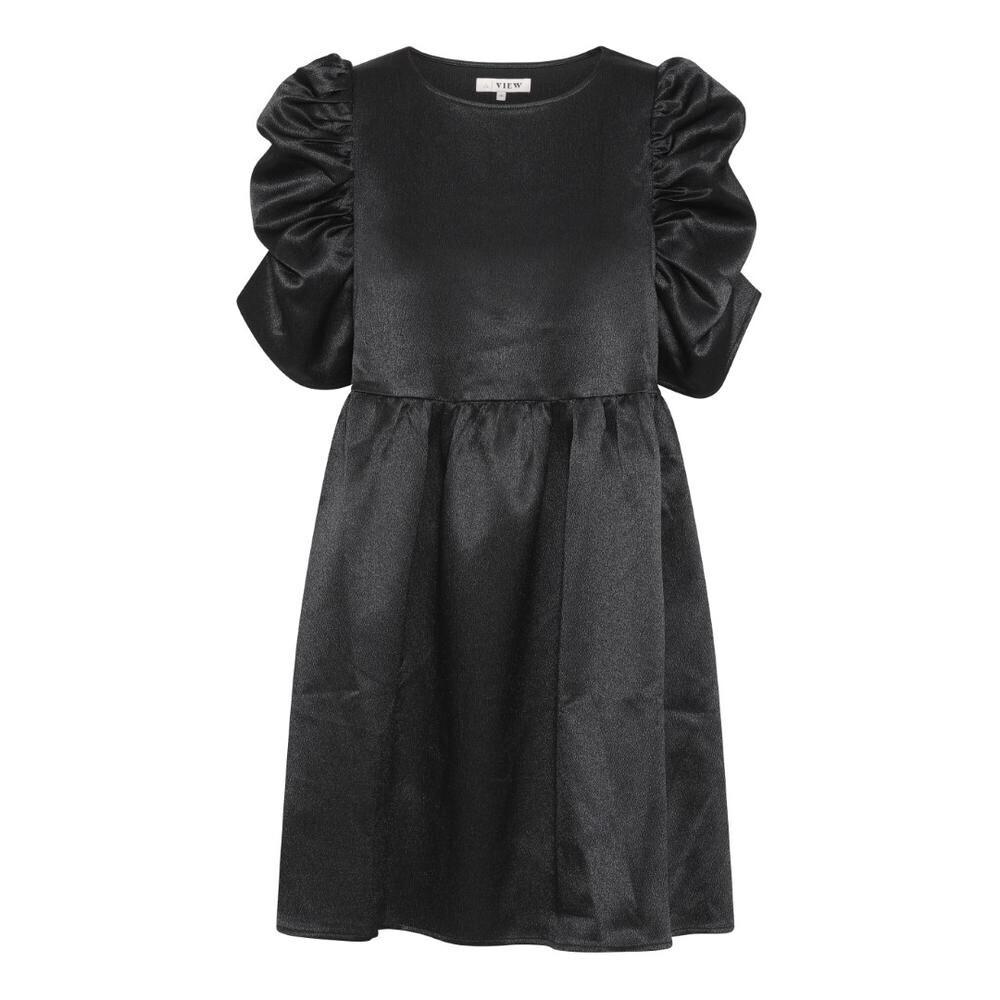 A-View Dress Puff | Black