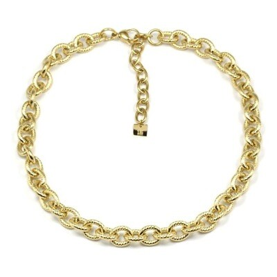 Zag Bijoux Ketting Twisted Anchor Luxury Chain | Goud