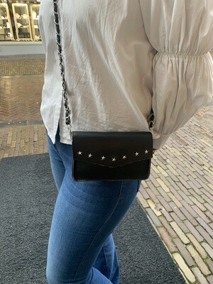 Las Lunas Magic Star Bag | Black