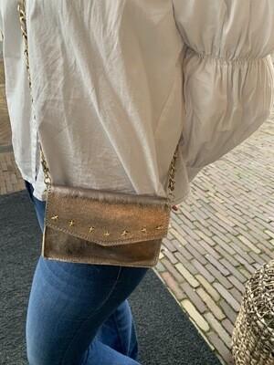 Las Lunas Magic Star Bag | Rosé-Gold