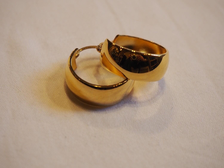 Zag Bijoux Earrings Magic Round | Gold