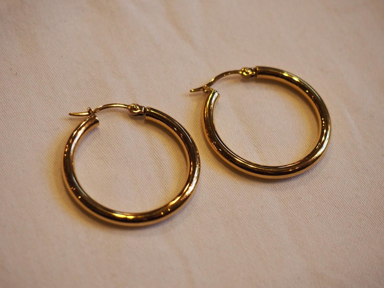 Zag Bijoux Earrings Jane Round | Gold
