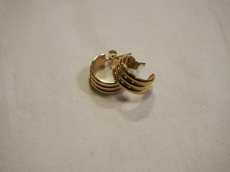 Zag Bijoux Earrings Monaco   Gold