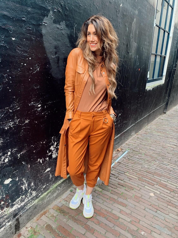 24 Colours London Pants | Rust