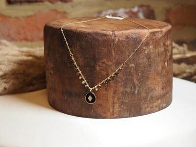 Zag Bijoux Chain Black Eye | Gold