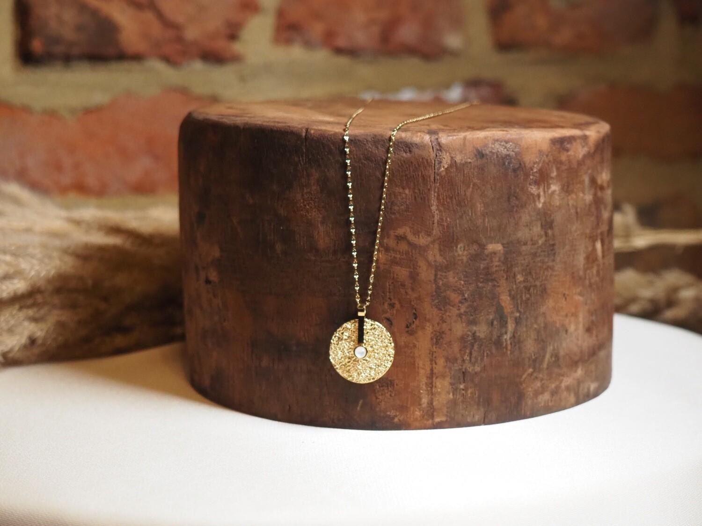 Zag Bijoux Chain Medallion | Gold