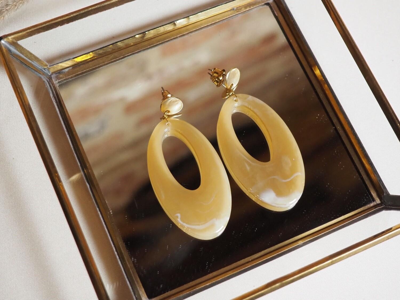 Viva Jewellery Earrings José | Nude