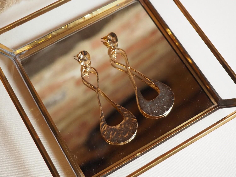 Viva Jewellery Earrings Gestuz   Gold