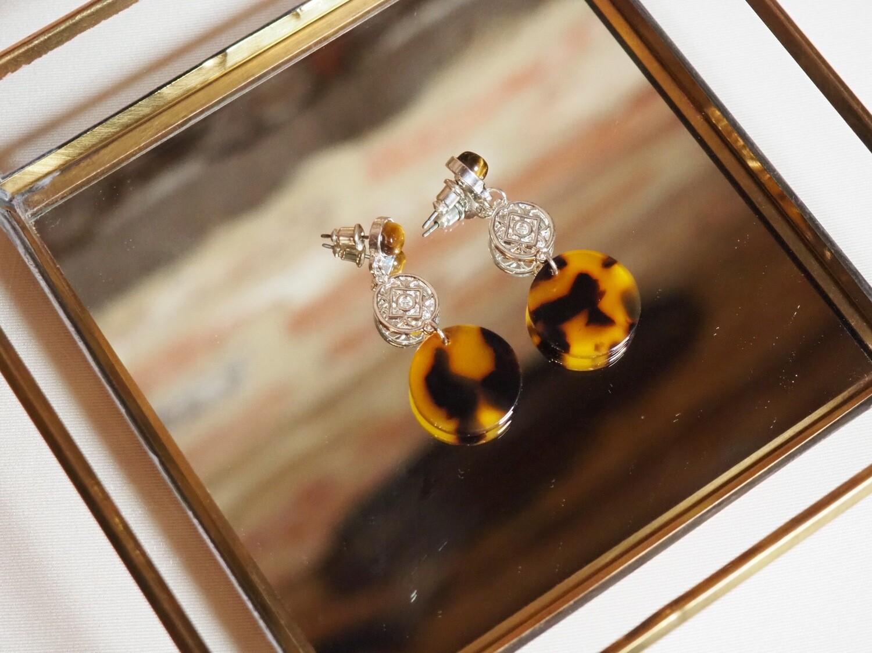 Viva Jewellery Earrings Panter Eye | Zilver
