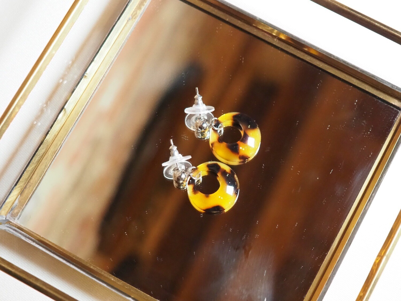 Viva Jewellery Earrings Panter Round | Zilver