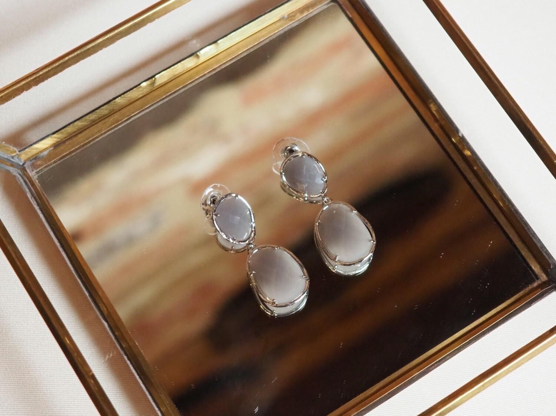 Viva Jewellery Earrings Sanny Grey | Gold