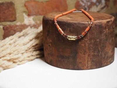 Zag Bijoux Chain Beads Congac