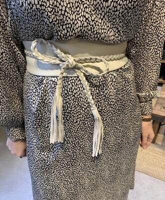 Las Lunas Wrap Belt | off - white